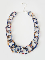 Resin Link Necklace