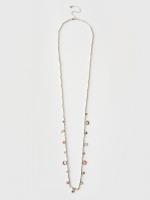 Enamel Charm Station Necklace