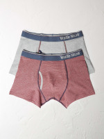 Fine Stripe Boxer Double Pack