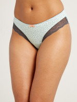 Peppermint Polka Dot Knicker