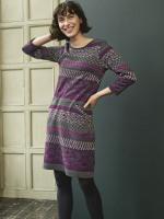 Keiko Jacquard Jersey Dress