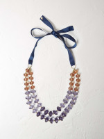 Double Layer Ombre Necklace