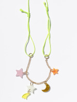 Stars And Moons Necklace