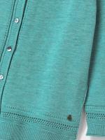 Palm Cotton Button Cardi