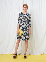 Elsie Butterfly Jersey Dress