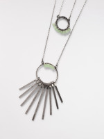 2 In 1 Circle Necklace