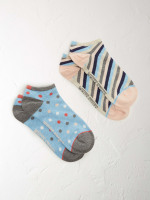 Greta Trainer 2 Pack Socks