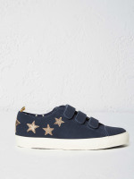 Verity Velcro Suede Trainer