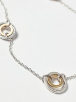 Ripple Circle Necklace