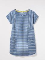 Mixed Denim Stripe Tunic