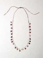 Semi Precious Bead Necklace