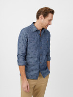 Gila Chambray Print Shirt