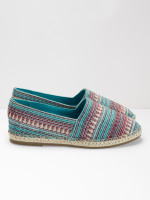 Embroidered Flat Espadrille