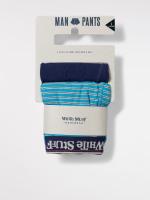 Fine Stripe Boxer Double Pack