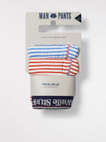 Multi Stripe Boxer Double Pack