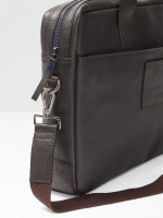 Monty Leather Laptop Bag