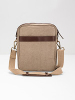 Phoenix Canvas Crossbody Bag
