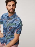 Aloha Hawaiian Print Shirt