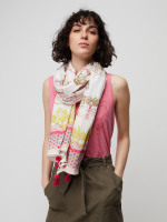 Patchwork Zoo Print Scarf