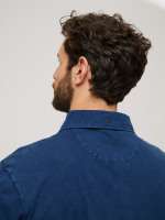 Textured Washed Polo
