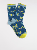 Flying Owls Sock
