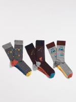 Sporty Socks In A Box