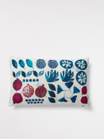 Betty Beetroot Print Cushion