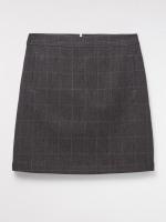 Roberta Check Skirt