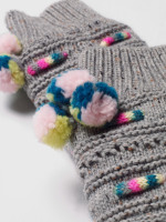 Threading Rope Slipper Sock