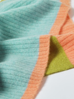 Colourblock Cashmere Scarf