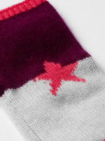 Cashmere star fingerless glove