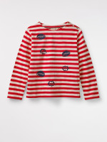Kids Meow Stripe Tee