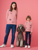 Kids Meow Stripe Tee