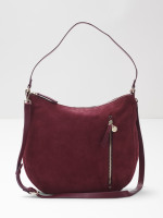 Beatrice Nubuck Hobo Bag