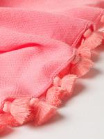 Sophia Texture Tassel Scarf