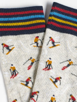 Ski-ing men sock 2 pack