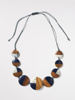 Wood & Resin Mono Necklace