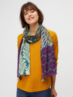Paper Layers Patchwork Scarf