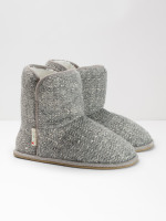 Mia Textured Neutral Bootie