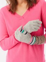 Cashmere Finger Stripe Glove