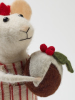 Christmas Cook Standing Mouse