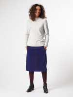 Haruki Plain Velvet Skirt