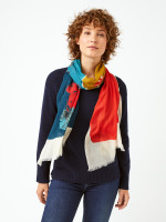 Forest Colour Block Scarf