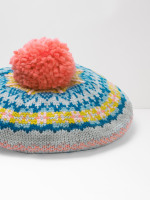 Kids Fairisle Knit Beret