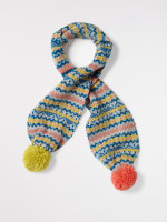 Kids Fairisle Knit Scarf