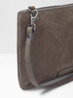 Bella Nubuck Crossbody Bag