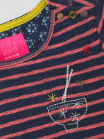 Washi Stripe Jersey Tunic