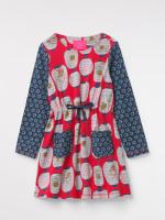Kiko Print Jersey Dress