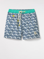 Fordy Wave Print Swim Short