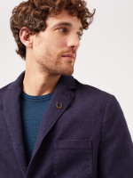 Armstrong Navy Cotton Blazer